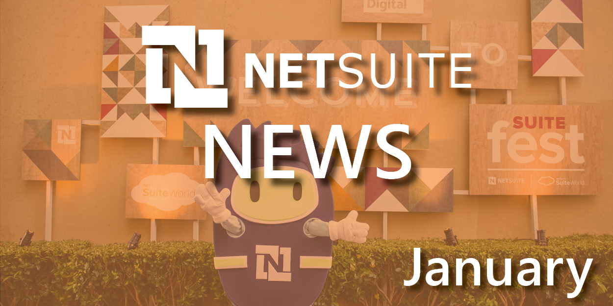 NetSuite News in January 2017