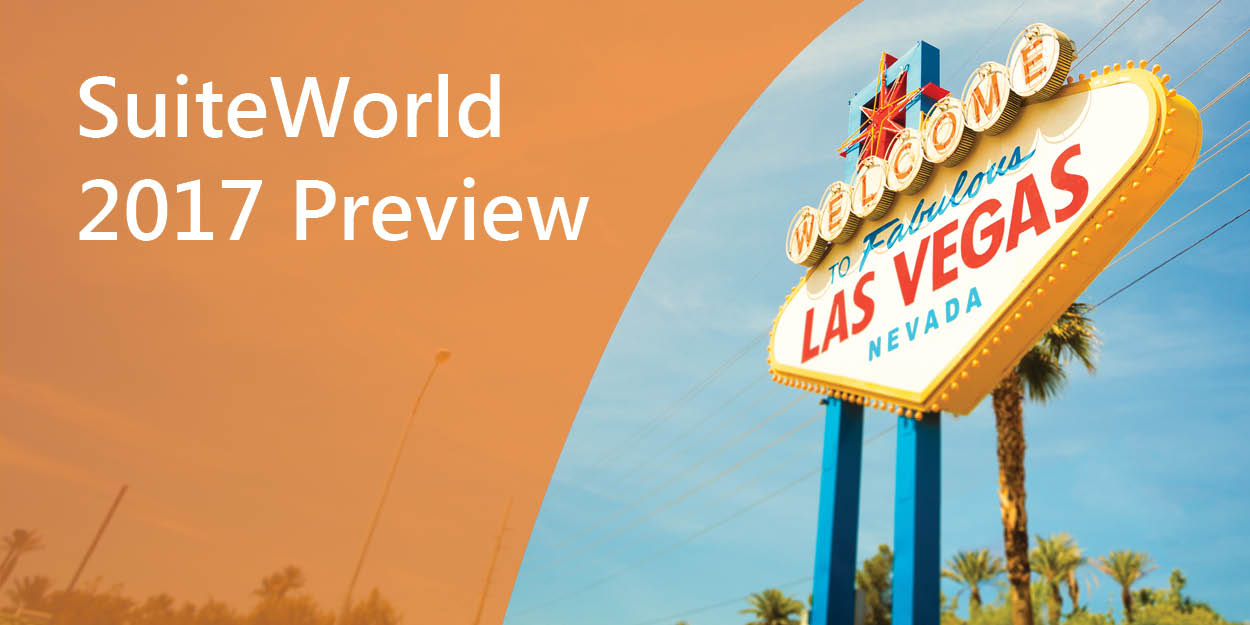 Suiteworld 2017 The Netsuite Community Gathers In Las Vegas