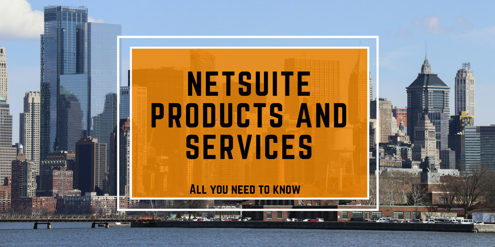 NetSuite products services