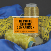 NetSuite edition comparison