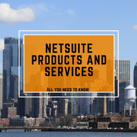 NetSuite products and services