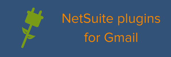 NetSuite plugins for Gmail
