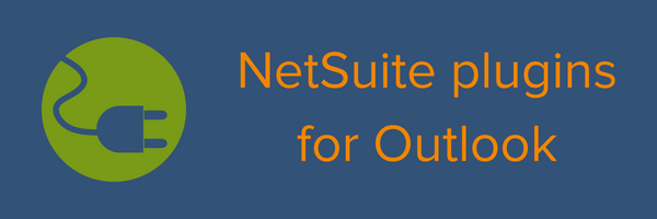 NetSuite plugins for Outlook
