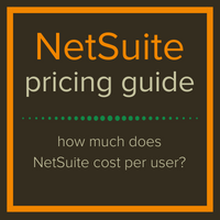 NetSuite pricing guide