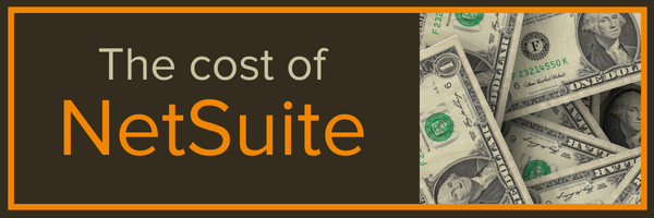 The cost of Netsuite